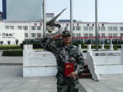 中成空间-八一建军节-退伍军人谭万勇