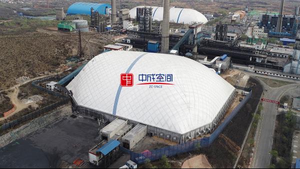中成空间气膜仓储领域应用广泛,方兴未艾!