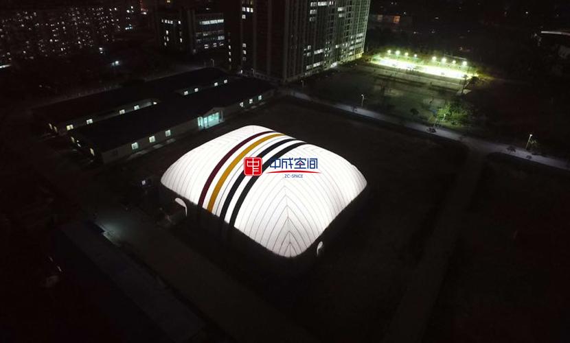 中成空间广州气膜羽毛球馆项目