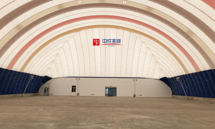 新疆裕民全民健身中心气膜体育馆