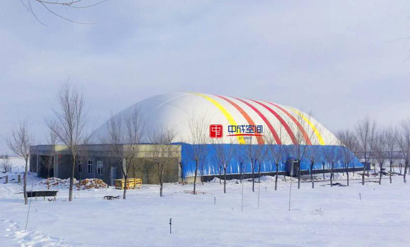气膜体育馆抗积雪