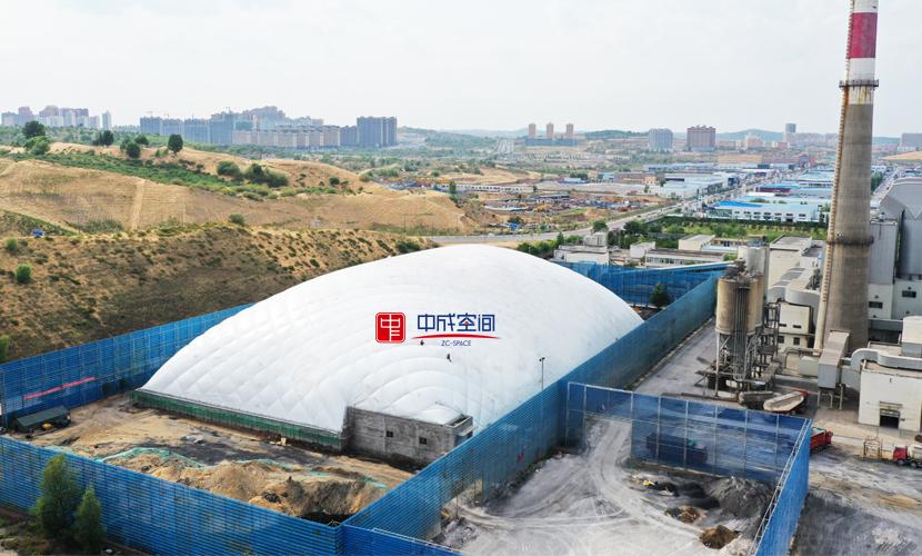陕西封闭式煤场建设