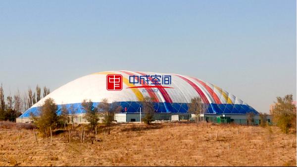 快乐天堂 | 新疆迪乐尼儿童乐园项目成功充膜