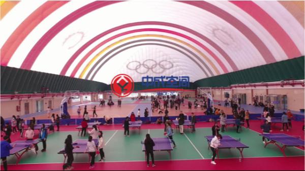 气膜体育馆体育爱好运动者新场所