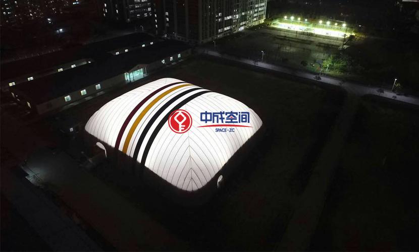 广东私立华联气膜羽毛球馆项目2