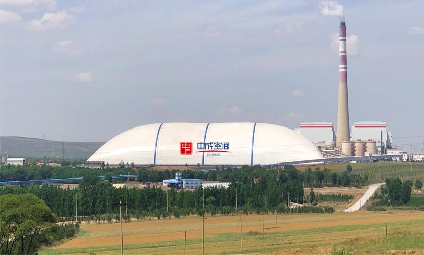 山西京玉气膜煤场