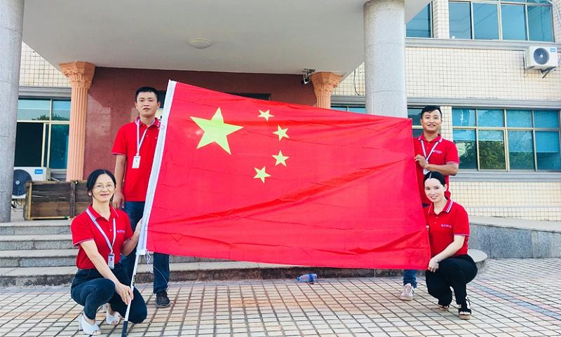 中成空间湖南研发基地开展国庆主题活动
