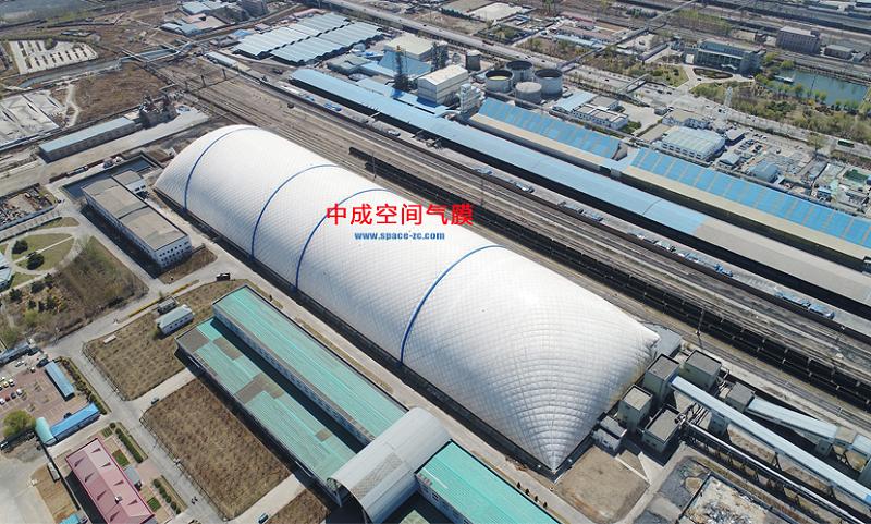 秦皇岛封闭气膜煤场图片