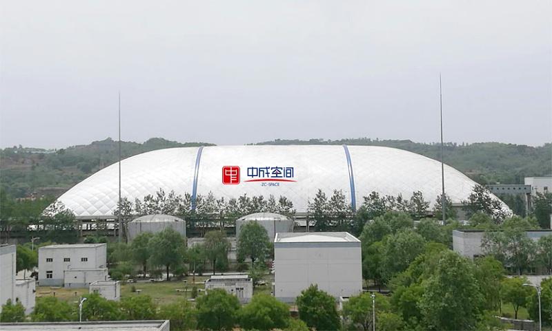 武乡县气膜煤棚封闭工程