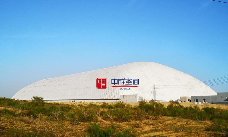 内蒙古全封闭气膜罩式物流园