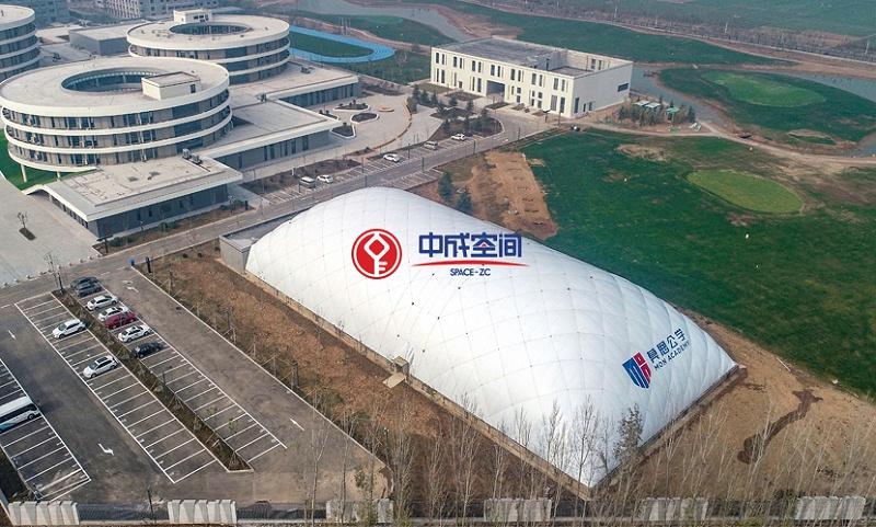 河北邯郸莫恩国际公学EPC气膜场馆1