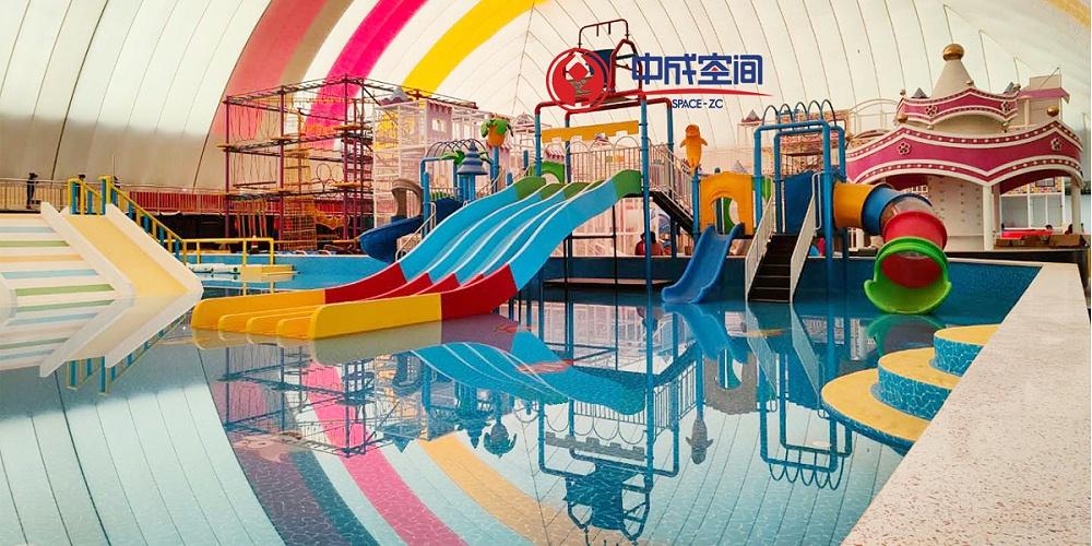 新疆迪乐尼儿童乐园气膜馆项目