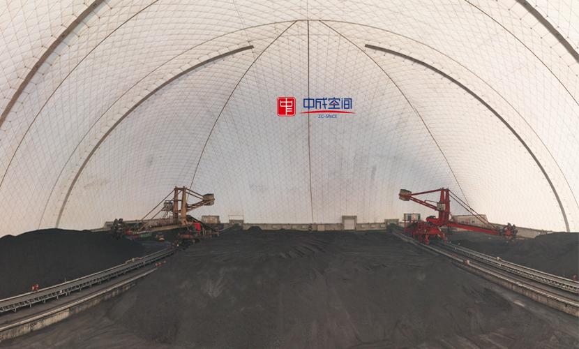 王曲电厂气膜煤棚