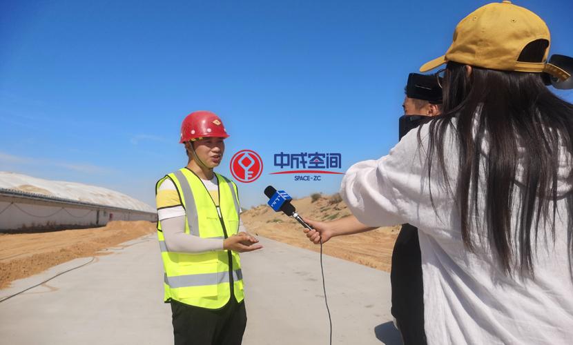 沙漠气膜物流园-内蒙古煤场封闭EPC项目2