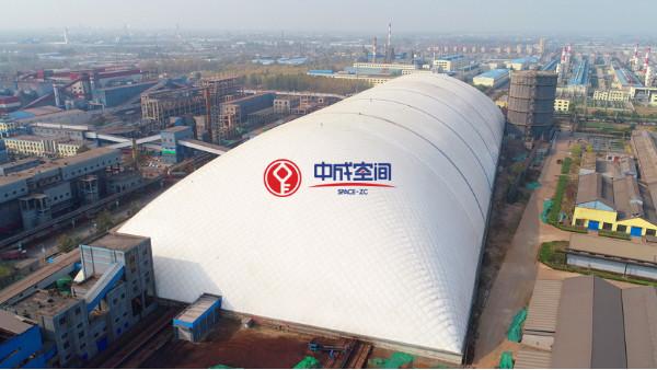临沂江鑫钢铁气膜是哪家公司做的?