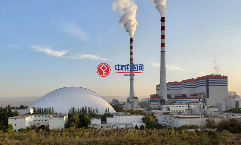 国家能源集团河曲电厂EPC气膜煤场封闭一期工程1