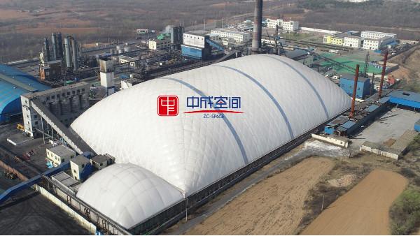环保气膜煤棚是一种怎样的新型气膜建筑?